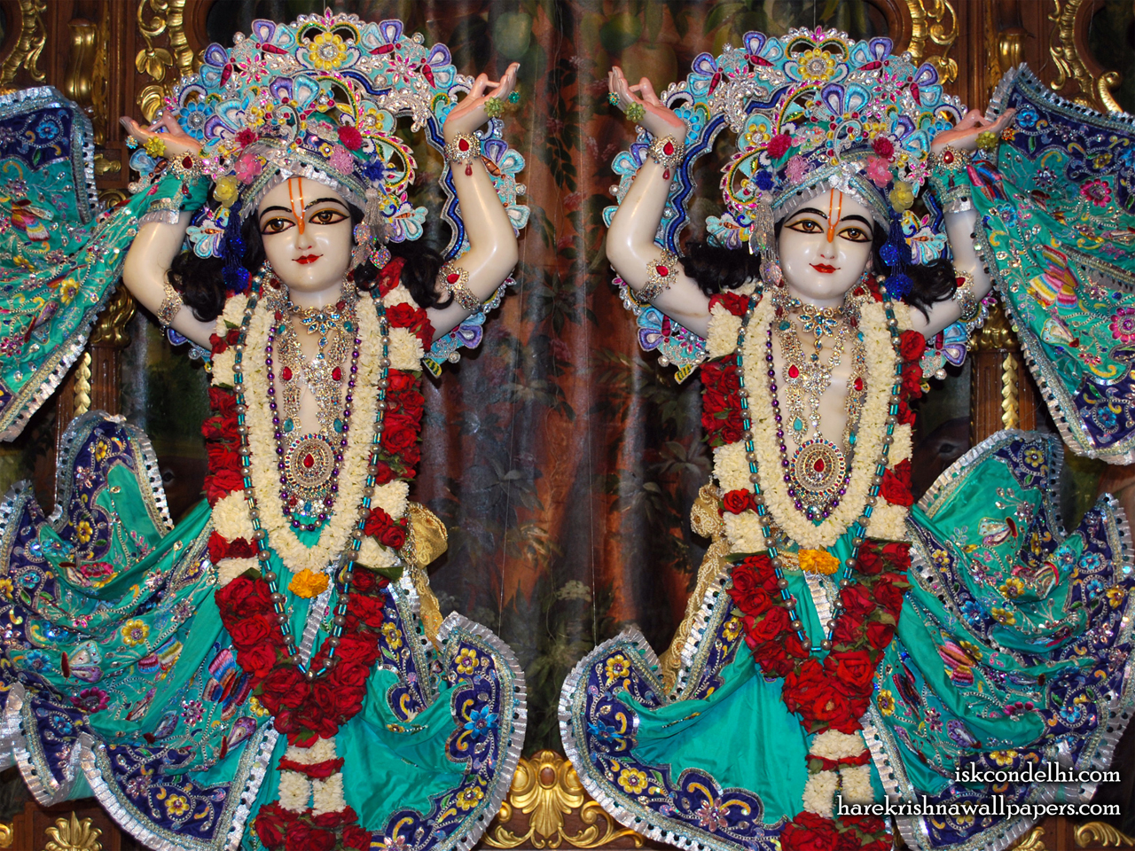 Sri Sri Gaura Nitai Close up Wallpaper (004) Size 1280x960 Download