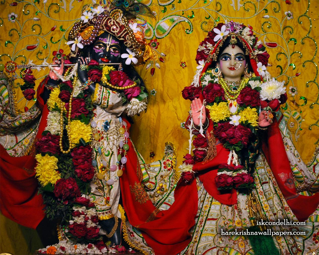 Sri Sri Radha Parthasarathi Wallpaper (004) Size 1280x1024 Download
