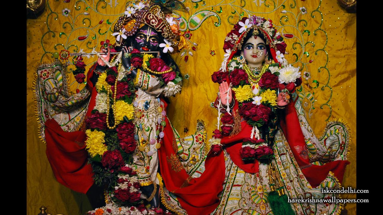 Sri Sri Radha Parthasarathi Wallpaper (004) Size1280x720 Download