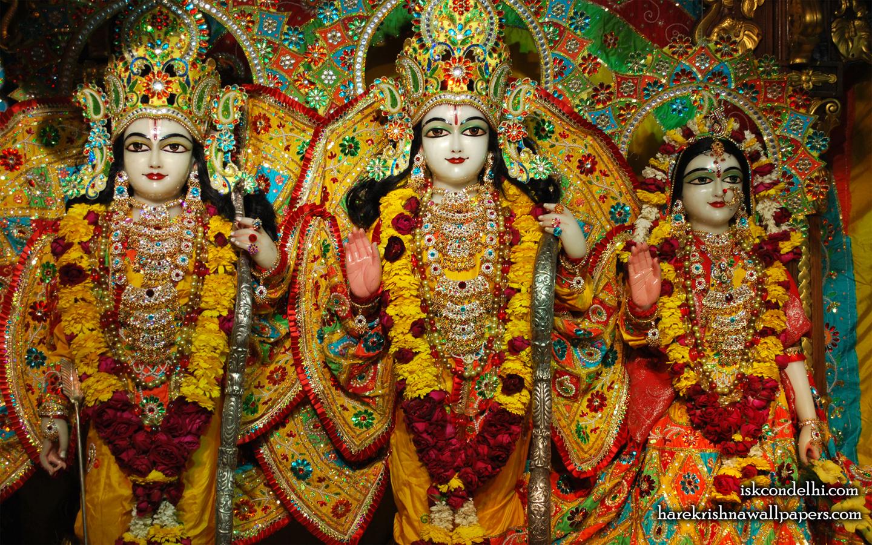 Sri Sri Sita Rama Laxman Wallpaper (004) Size 1440x900 Download