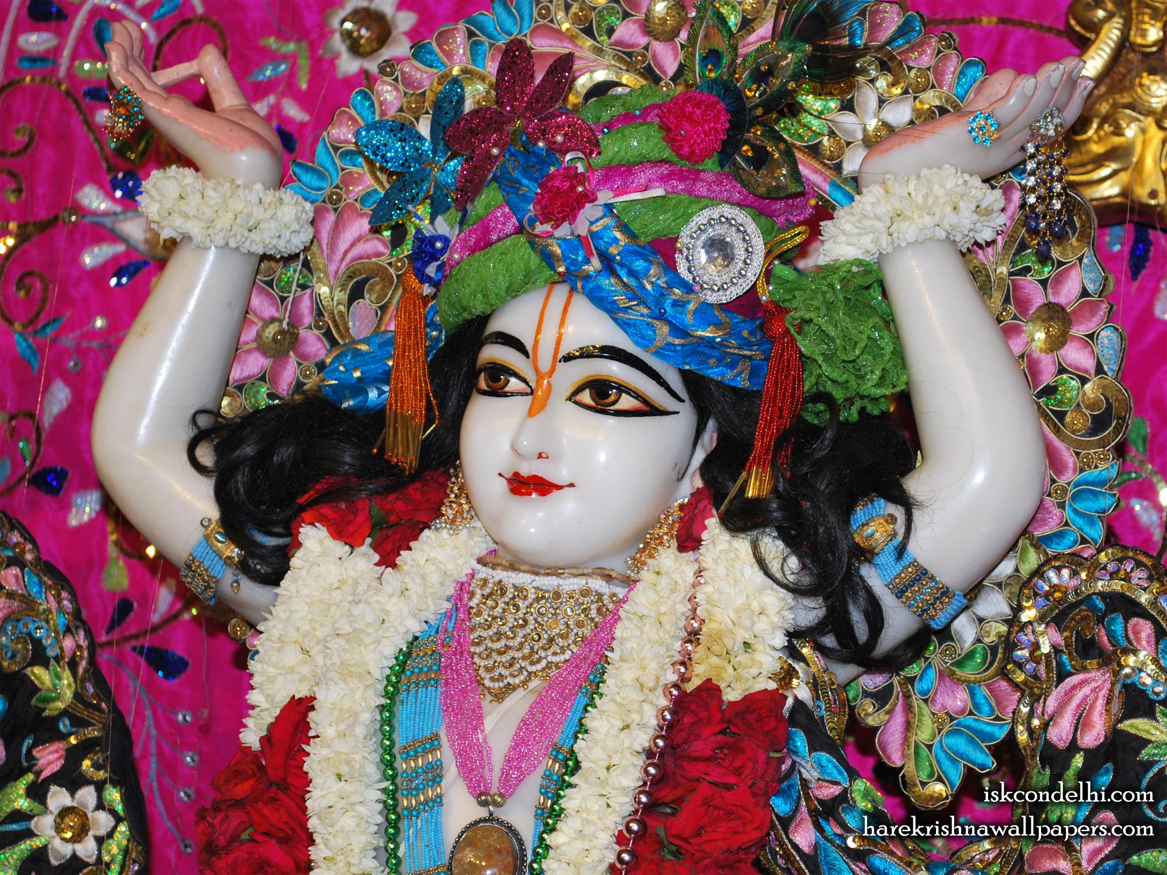 Sri Gaura Close up Wallpaper (005) Size 2400x1800 Download