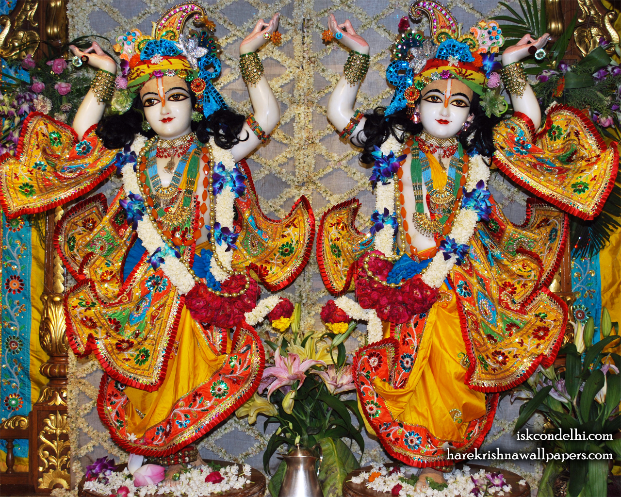 Sri Sri Gaura Nitai Wallpaper (005) Size 1280x1024 Download