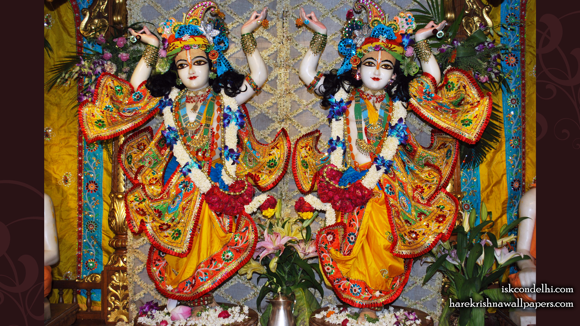 Sri Sri Gaura Nitai Wallpaper (005) Size 1920x1080 Download