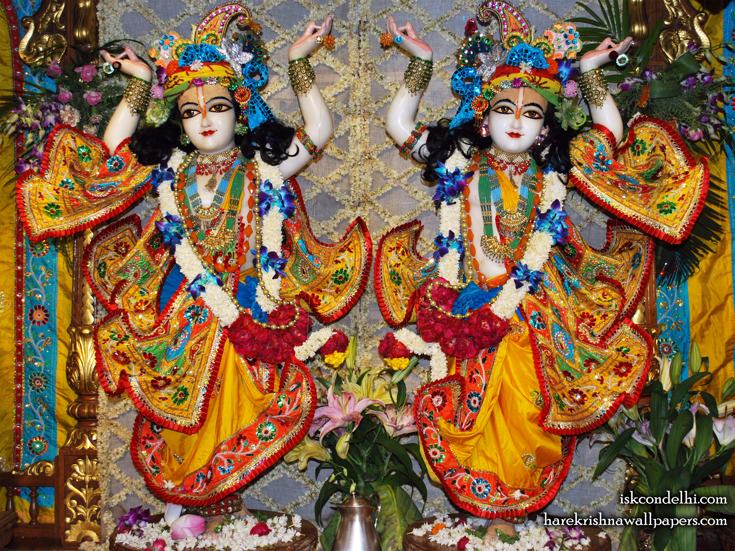 Sri Sri Gaura Nitai Wallpaper (005) Size 2400x1800 Download