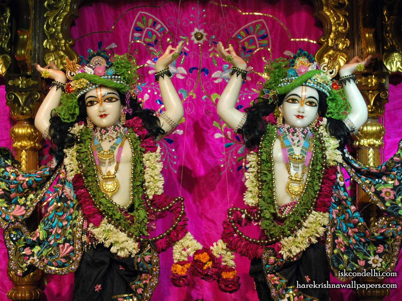 Sri Sri Gaura Nitai Close up Wallpaper (005) Size 1280x960 Download