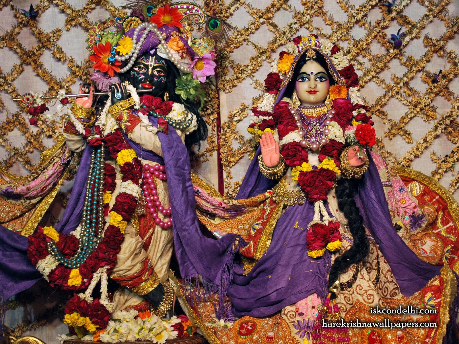 Sri Sri Radha Parthasarathi Wallpaper (005) Size1600x1200 Download