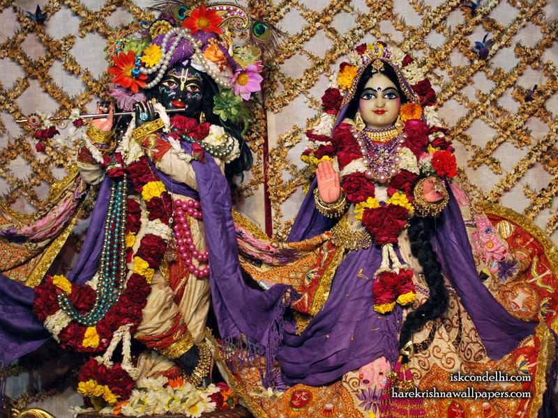 Sri Sri Radha Parthasarathi Wallpaper (005) Size 800x600 Download