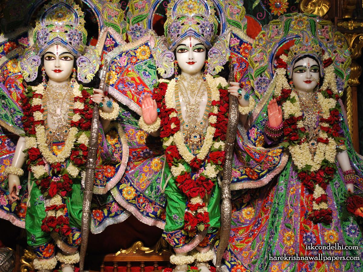 Sri Sri Sita Rama Laxman Wallpaper (005) Size1200x900 Download