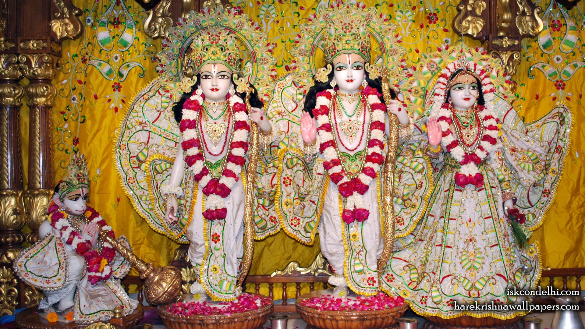 Sri Sri Sita Rama Laxman Hanuman Wallpaper (005) Size 1920x1080 Download