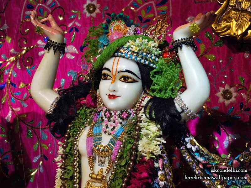 Sri Gaura Close up Wallpaper (006)