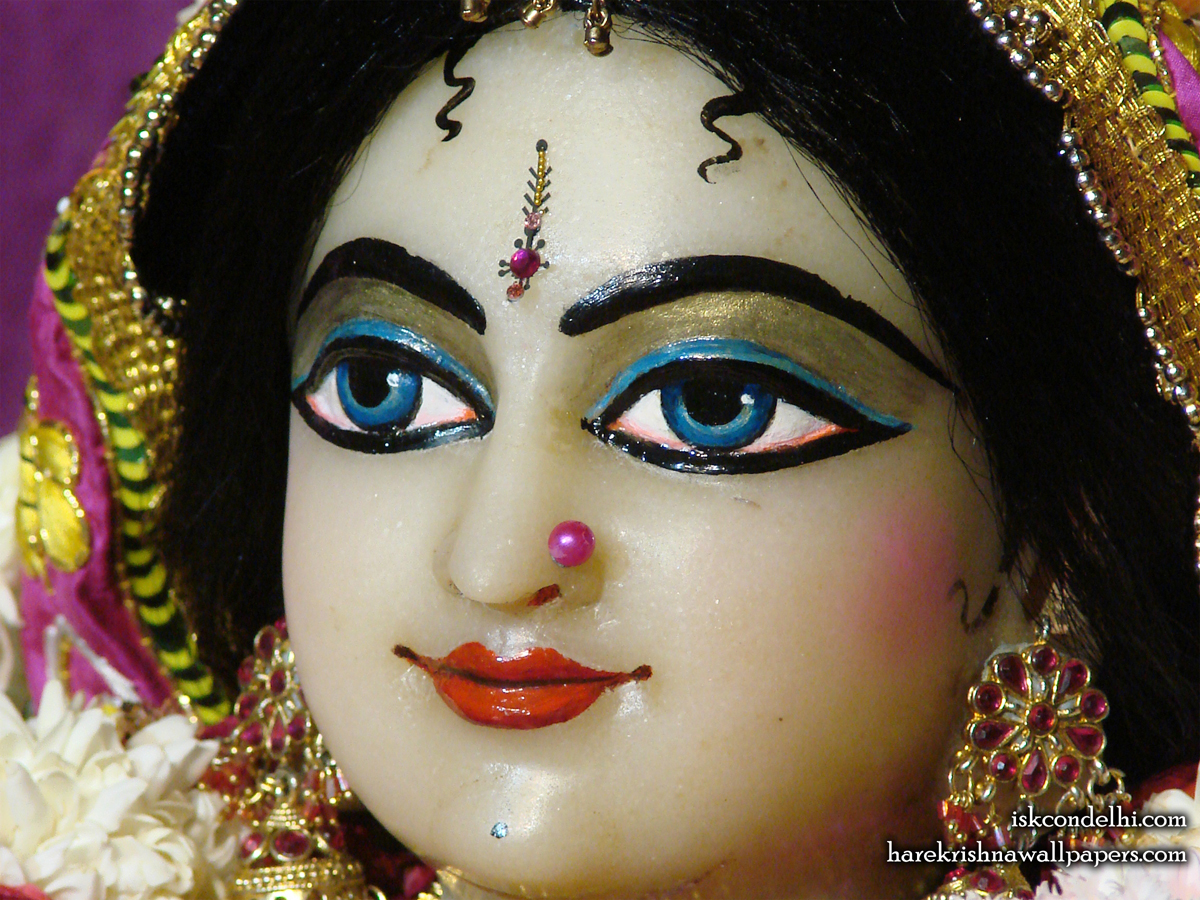 Sri Radha Close up Wallpaper (006) Size1200x900 Download