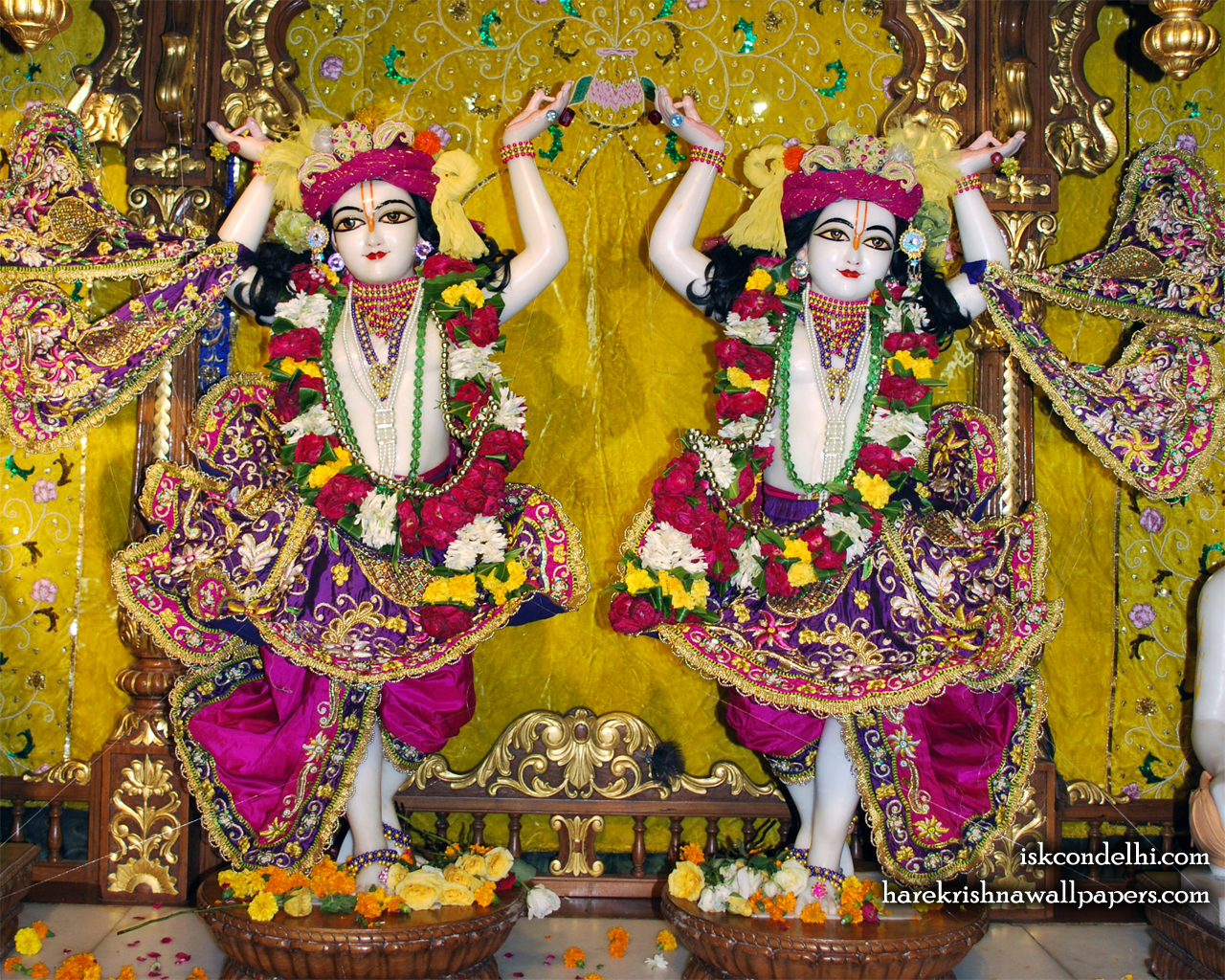 Sri Sri Gaura Nitai Wallpaper (006) Size 1280x1024 Download