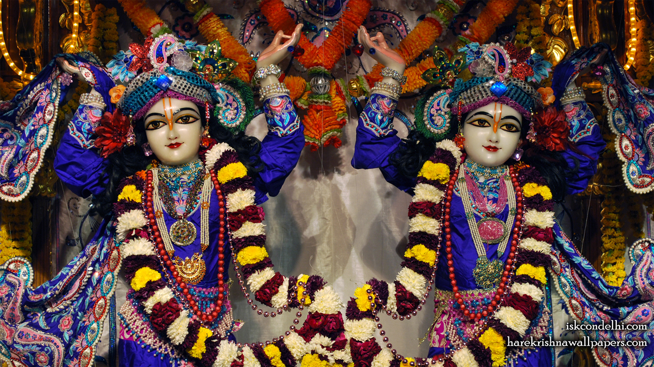 Sri Sri Gaura Nitai Close up Wallpaper (006) Size1280x720 Download
