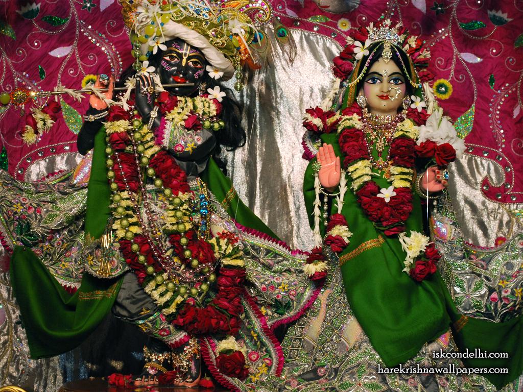 Sri Sri Radha Parthasarathi Wallpaper (006) Size 1024x768 Download