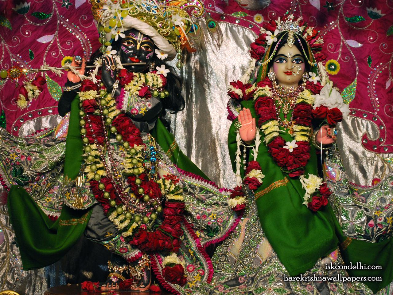 Sri Sri Radha Parthasarathi Wallpaper (006) Size 1280x960 Download