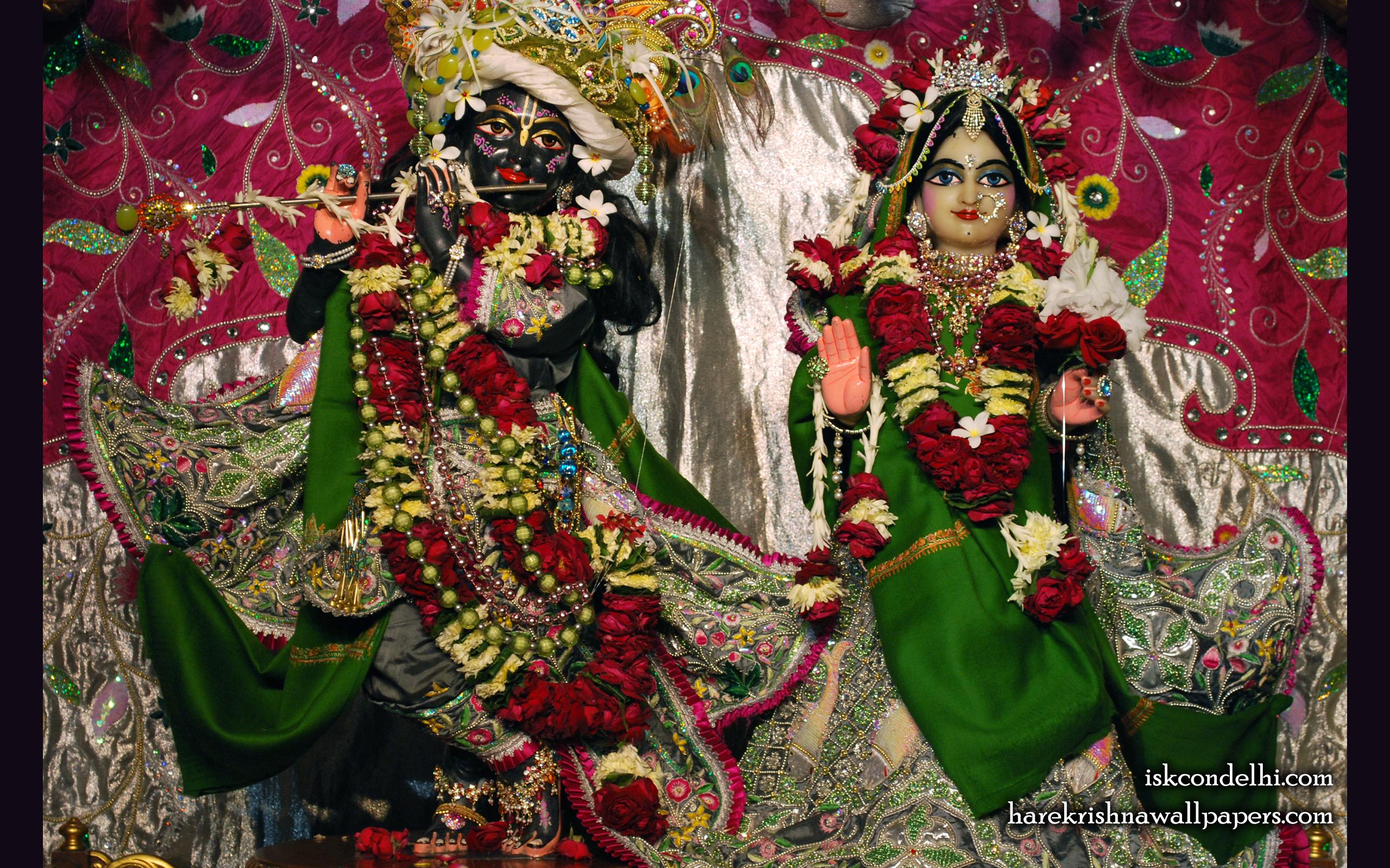 Sri Sri Radha Parthasarathi Wallpaper (006) Size 2560x1600 Download