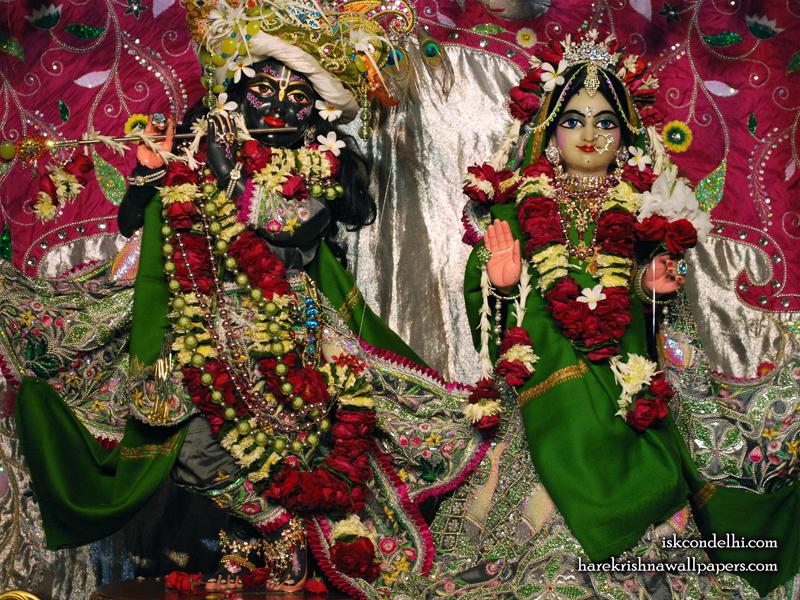 Sri Sri Radha Parthasarathi Wallpaper (006) Size 800x600 Download