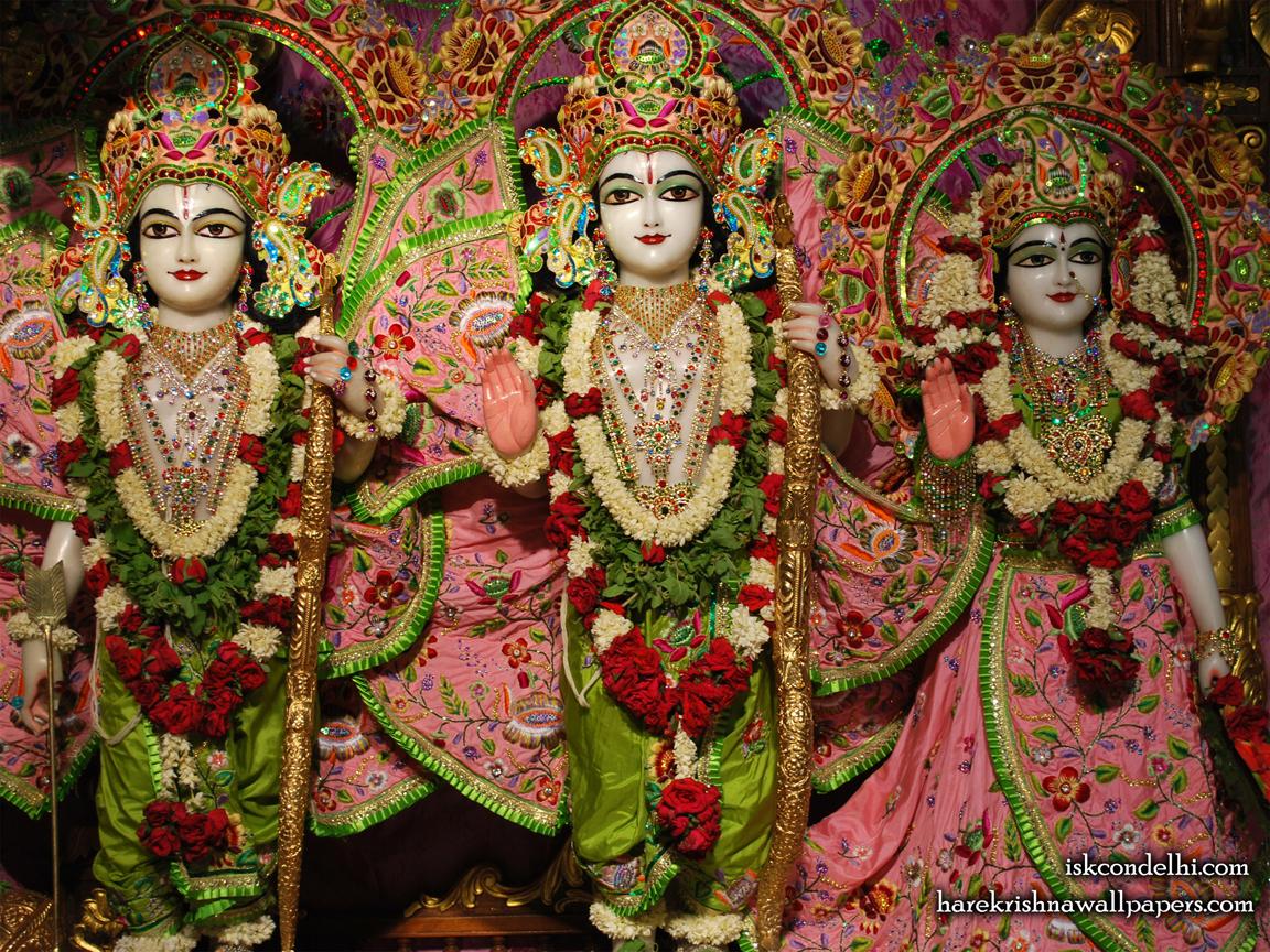 Sri Sri Sita Rama Laxman Wallpaper (006) Size 1152x864 Download