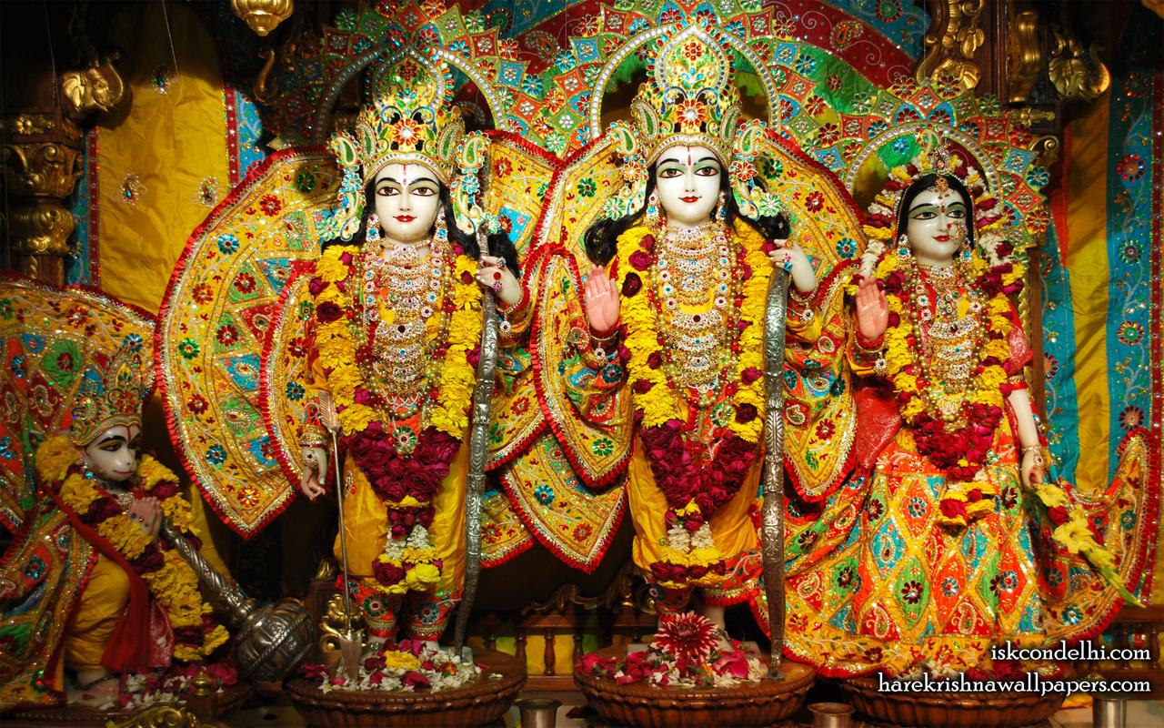 Sri Sri Sita Rama Laxman Hanuman Wallpaper (006) Size 1280x800 Download