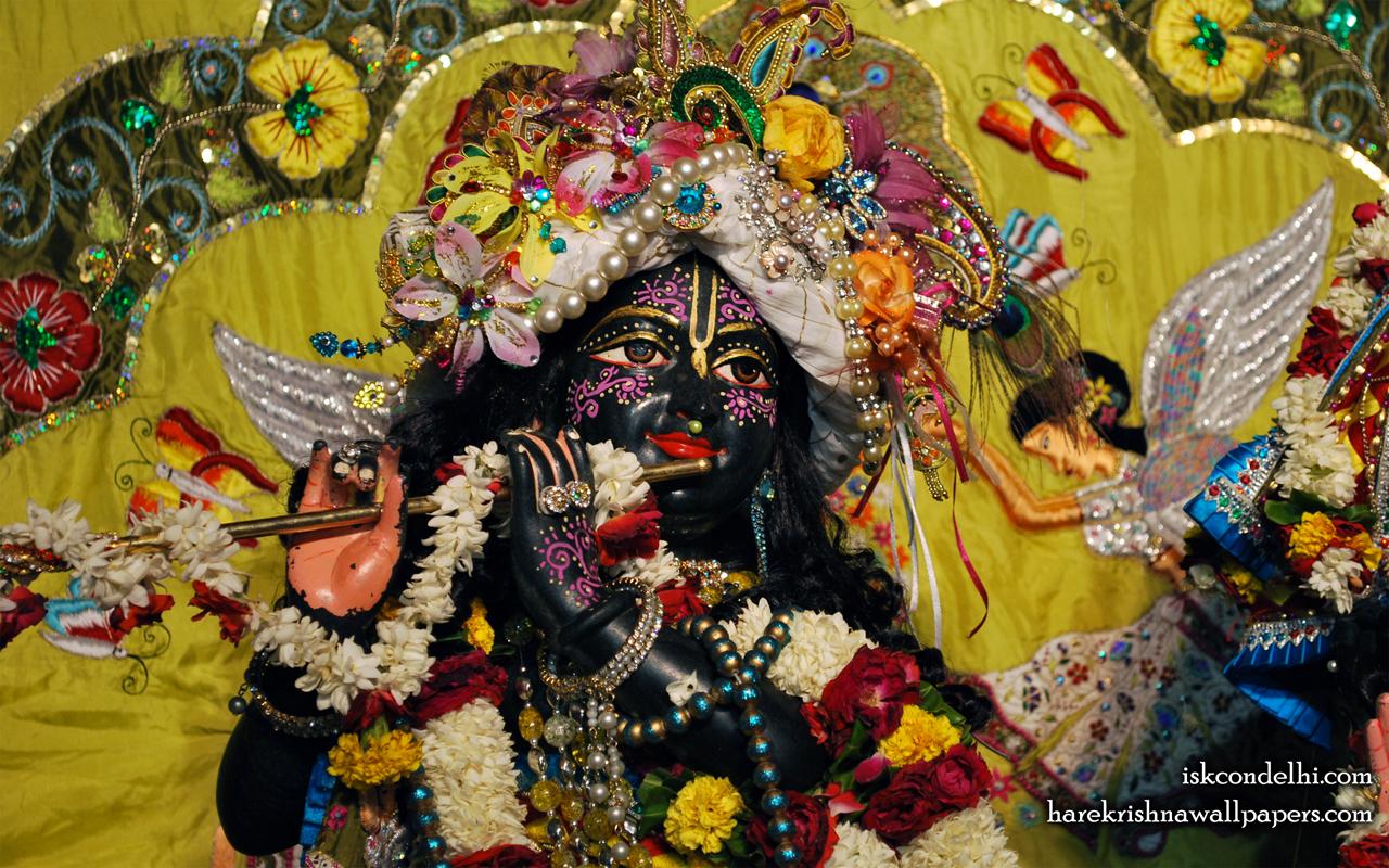 Sri Parthasarathi Close up Wallpaper (007) Size 1280x800 Download