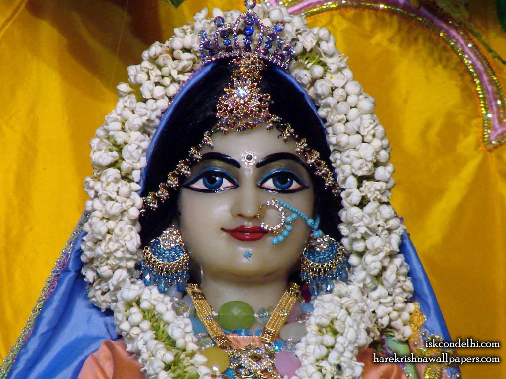 Sri Radha Close up Wallpaper (007) Size 1024x768 Download