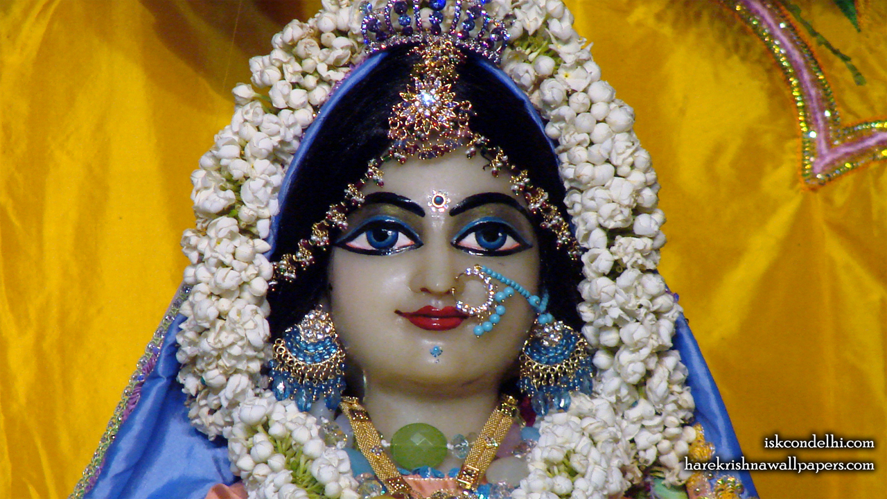 Sri Radha Close up Wallpaper (007) Size1280x720 Download