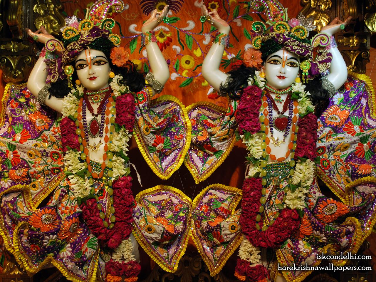 Sri Sri Gaura Nitai Close up Wallpaper (007) Size 1280x960 Download