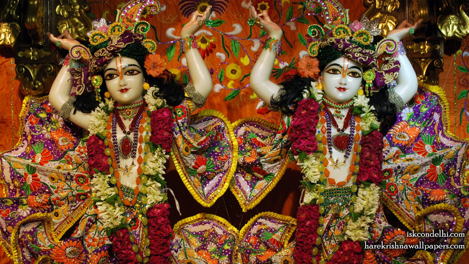 Sri Sri Gaura Nitai Close up Wallpaper (007) Size 1600x900 Download
