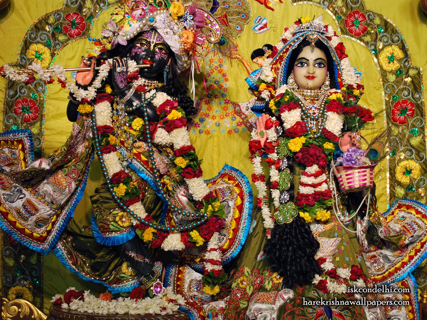 Sri Sri Radha Parthasarathi Wallpaper (007) Size 1400x1050 Download