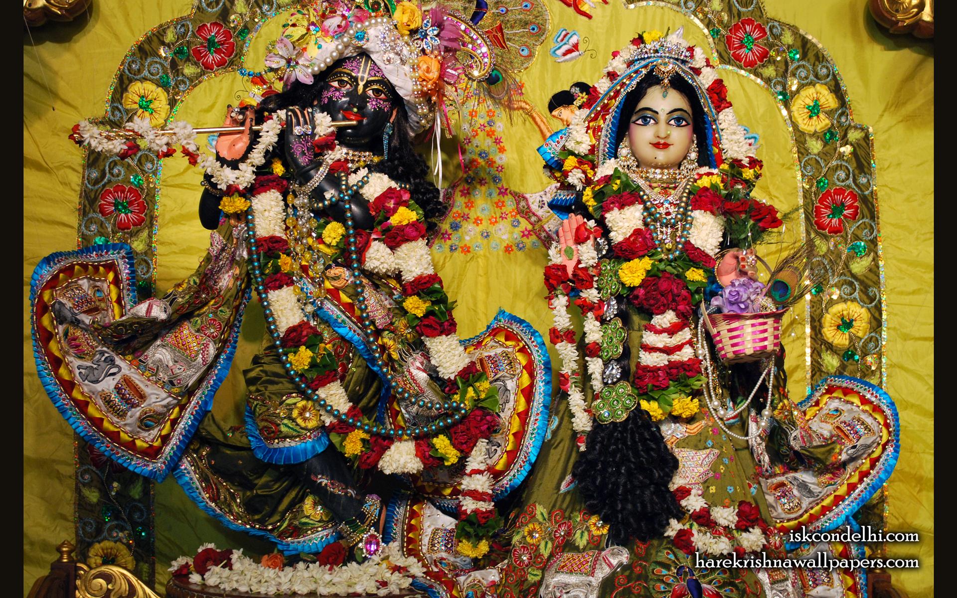 Sri Sri Radha Parthasarathi Wallpaper (007) Size 1920x1200 Download