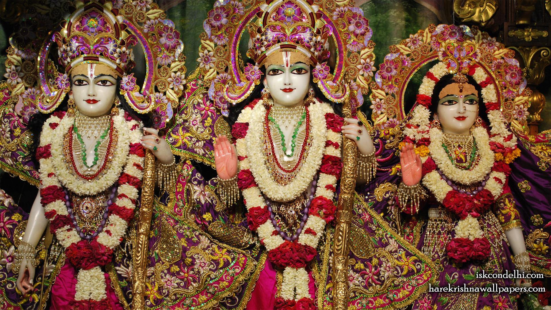 Sri Sri Sita Rama Laxman Wallpaper (007) Size 1920x1080 Download