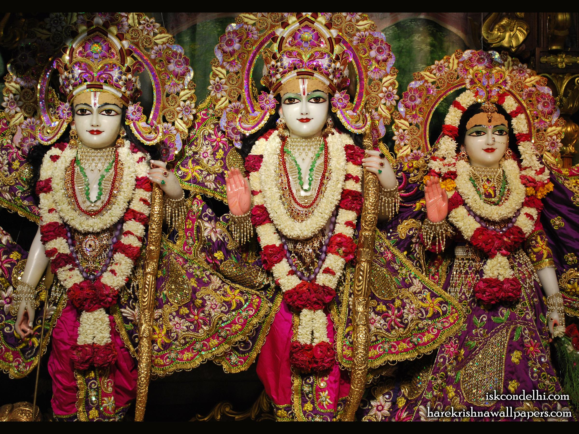 Sri Sri Sita Rama Laxman Wallpaper (007) Size 2400x1800 Download