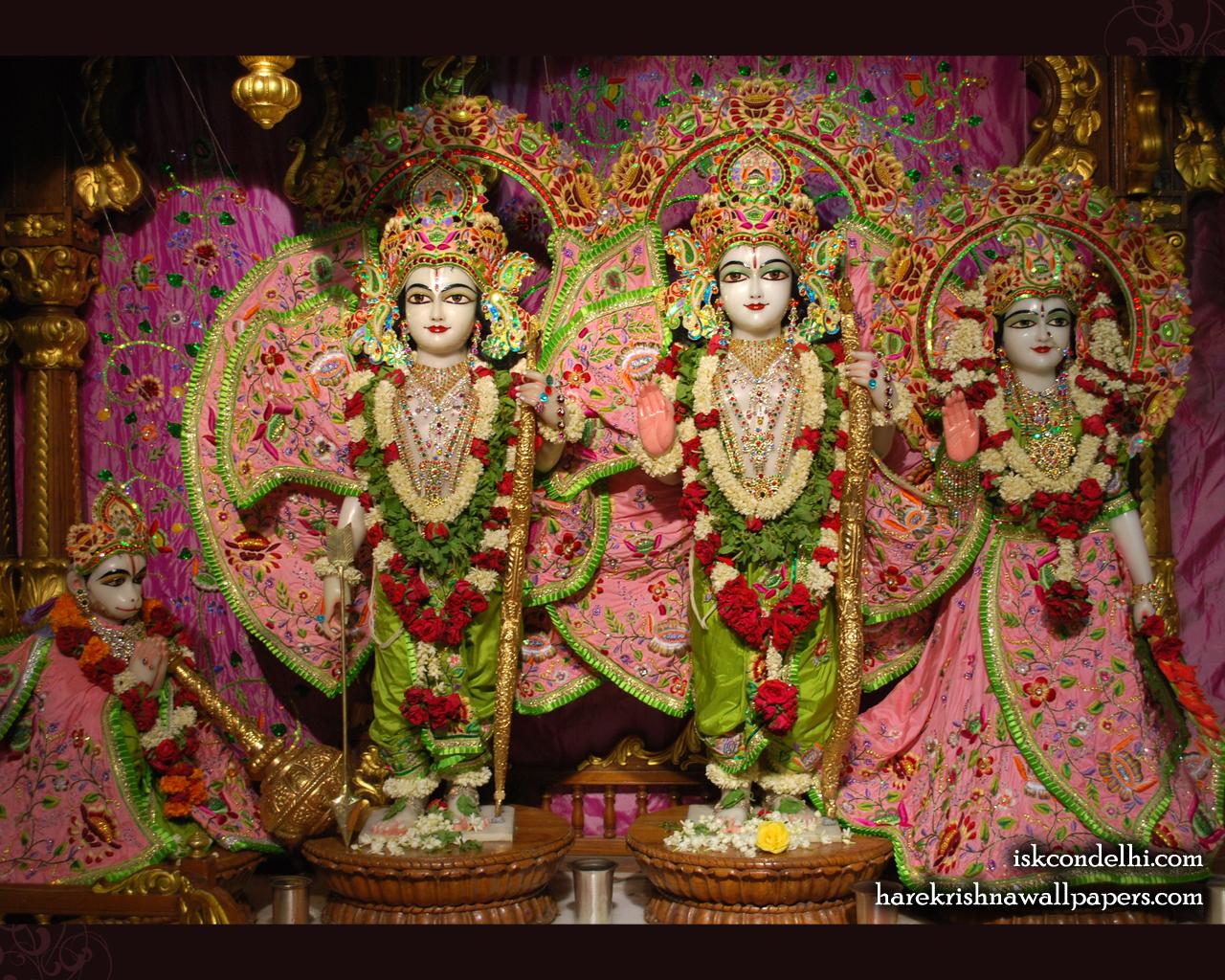 Sri Sri Sita Rama Laxman Hanuman Wallpaper (007) Size 1280x1024 Download
