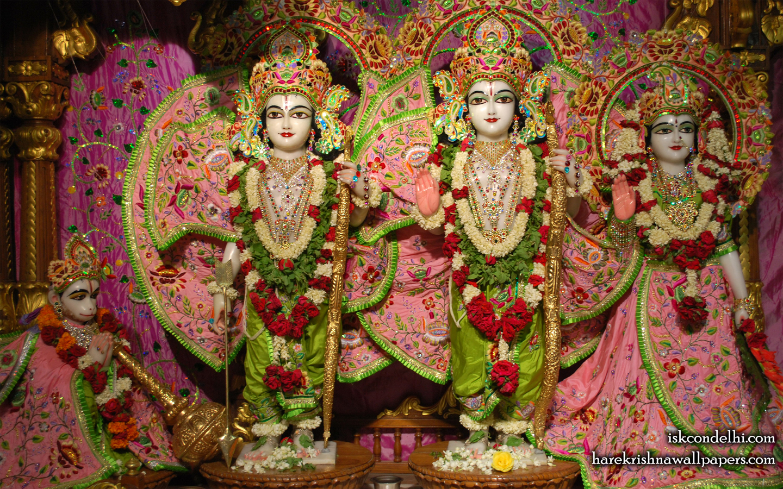 Sri Sri Sita Rama Laxman Hanuman Wallpaper (007) Size 1440x900 Download