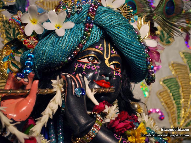 Sri Parthasarathi Close up Wallpaper (008)