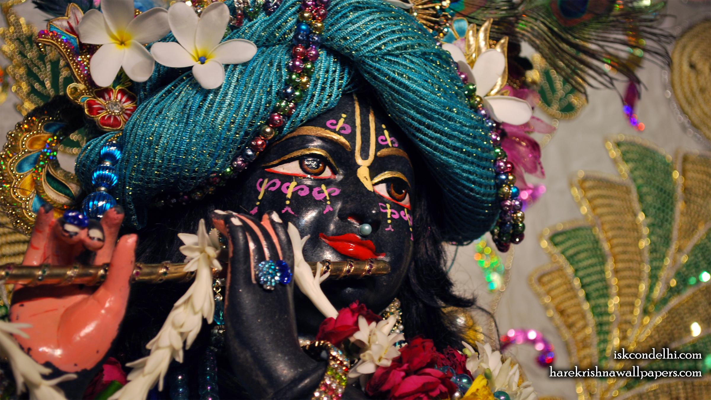 Sri Parthasarathi Close up Wallpaper (008) Size 2400x1350 Download