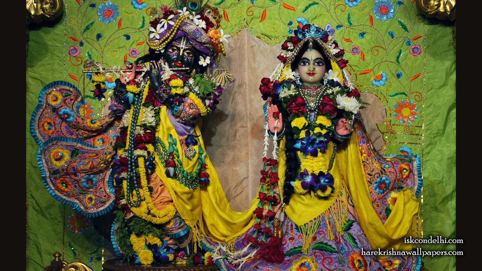 Sri Sri Radha Parthasarathi Wallpaper (008) Size 1920x1080 Download