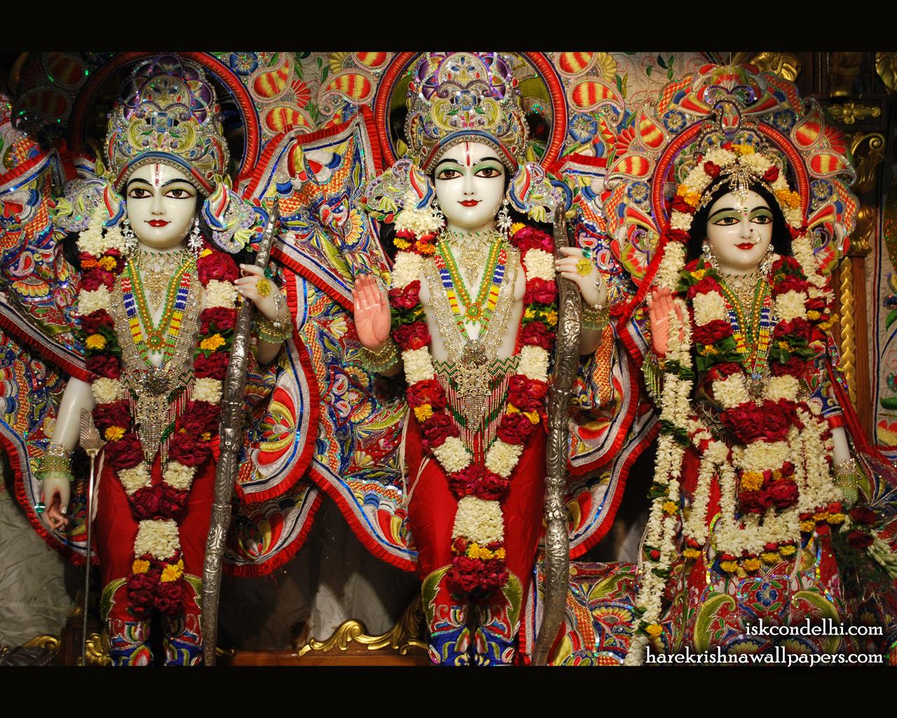 Sri Sri Sita Rama Laxman Wallpaper (008) Size 1280x1024 Download