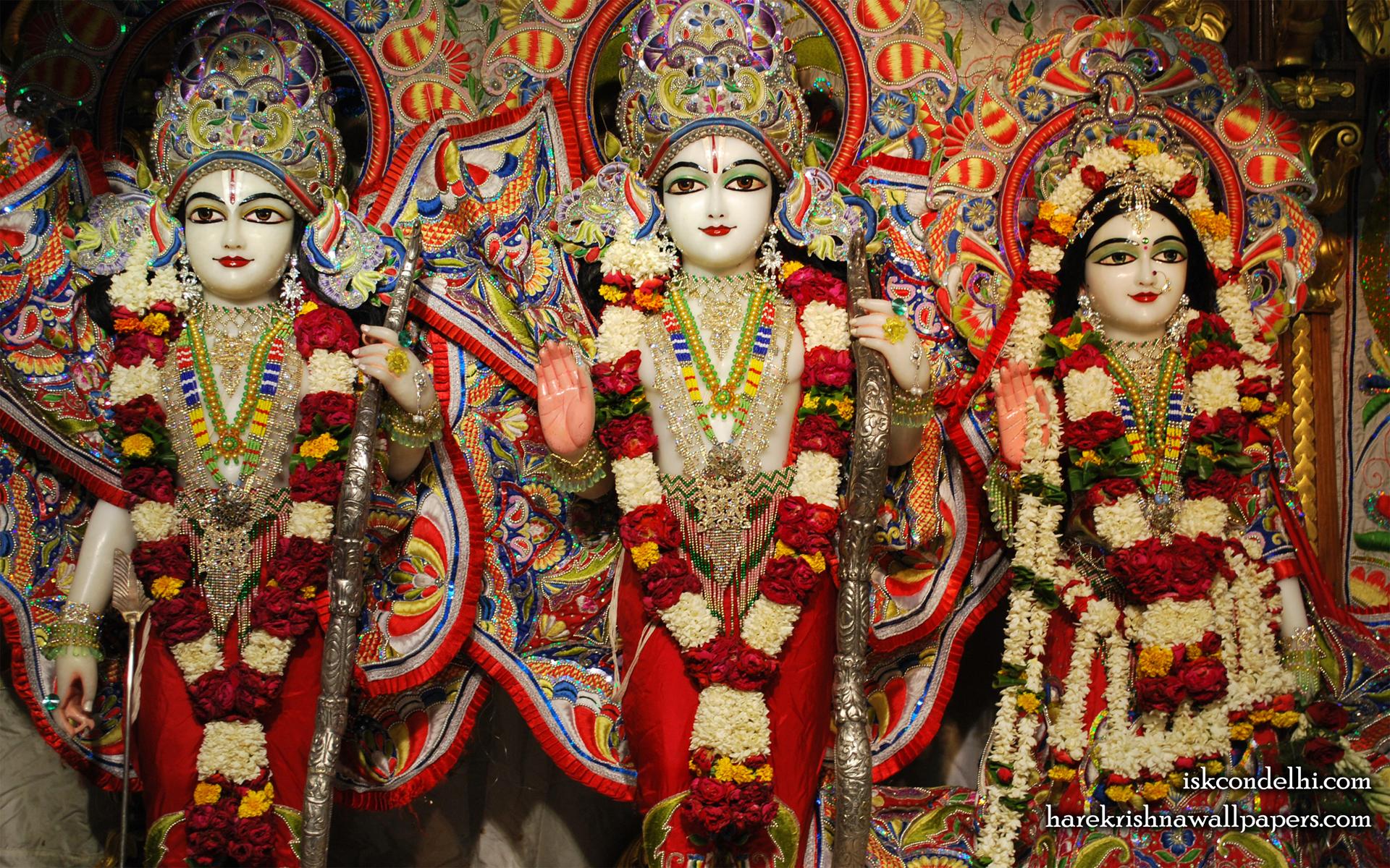 Sri Sri Sita Rama Laxman Wallpaper (008) Size 1920x1200 Download