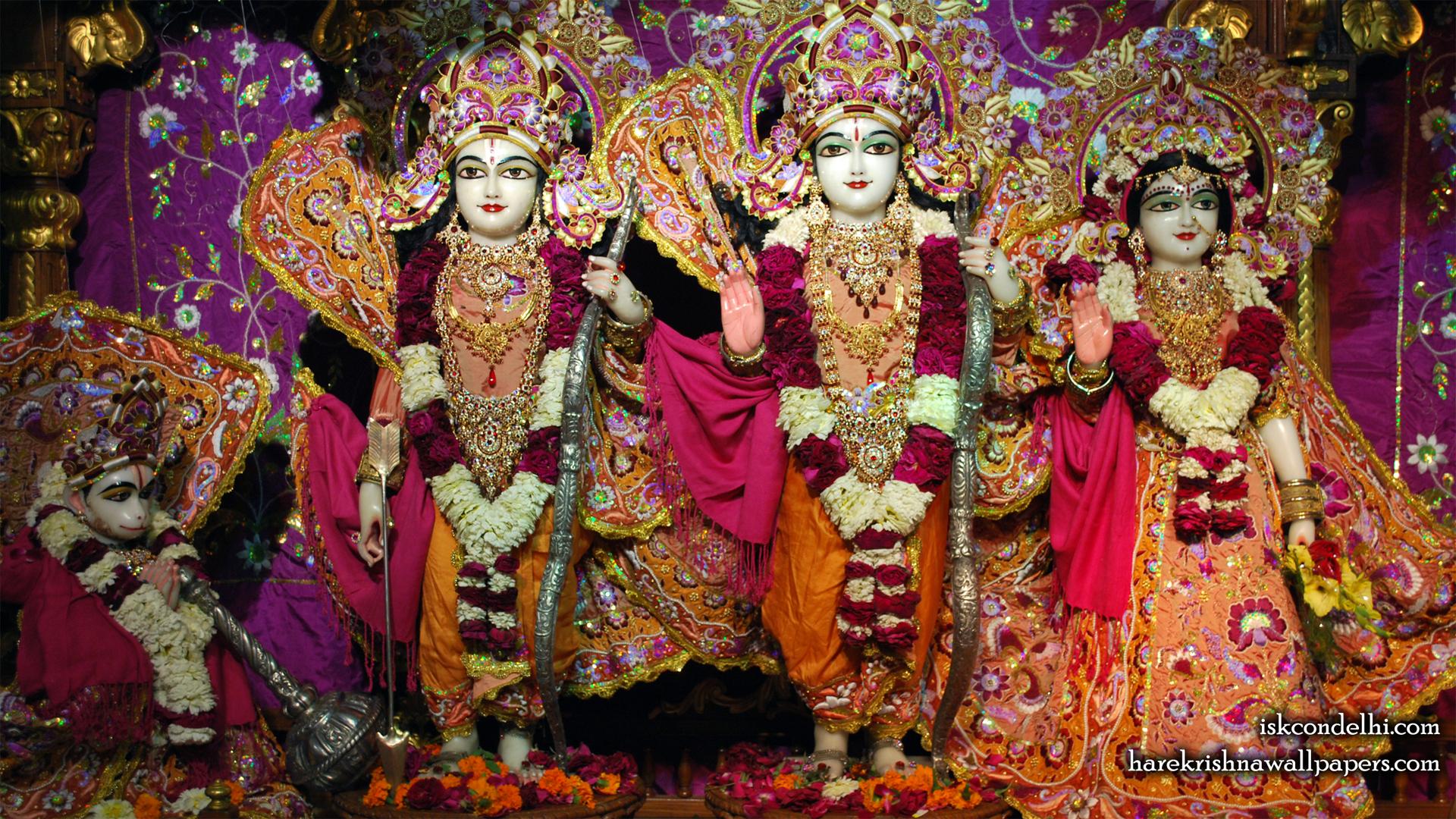 Sri Sri Sita Rama Laxman Hanuman Wallpaper (008) Size 1920x1080 Download