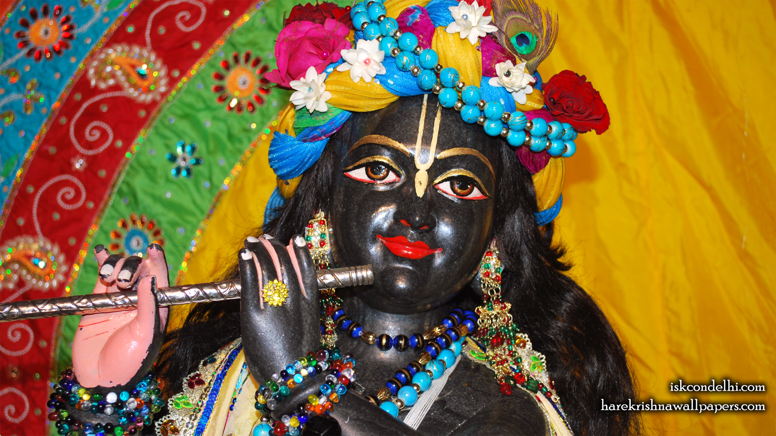 Sri Parthasarathi Close up Wallpaper (009) Size 1600x900 Download