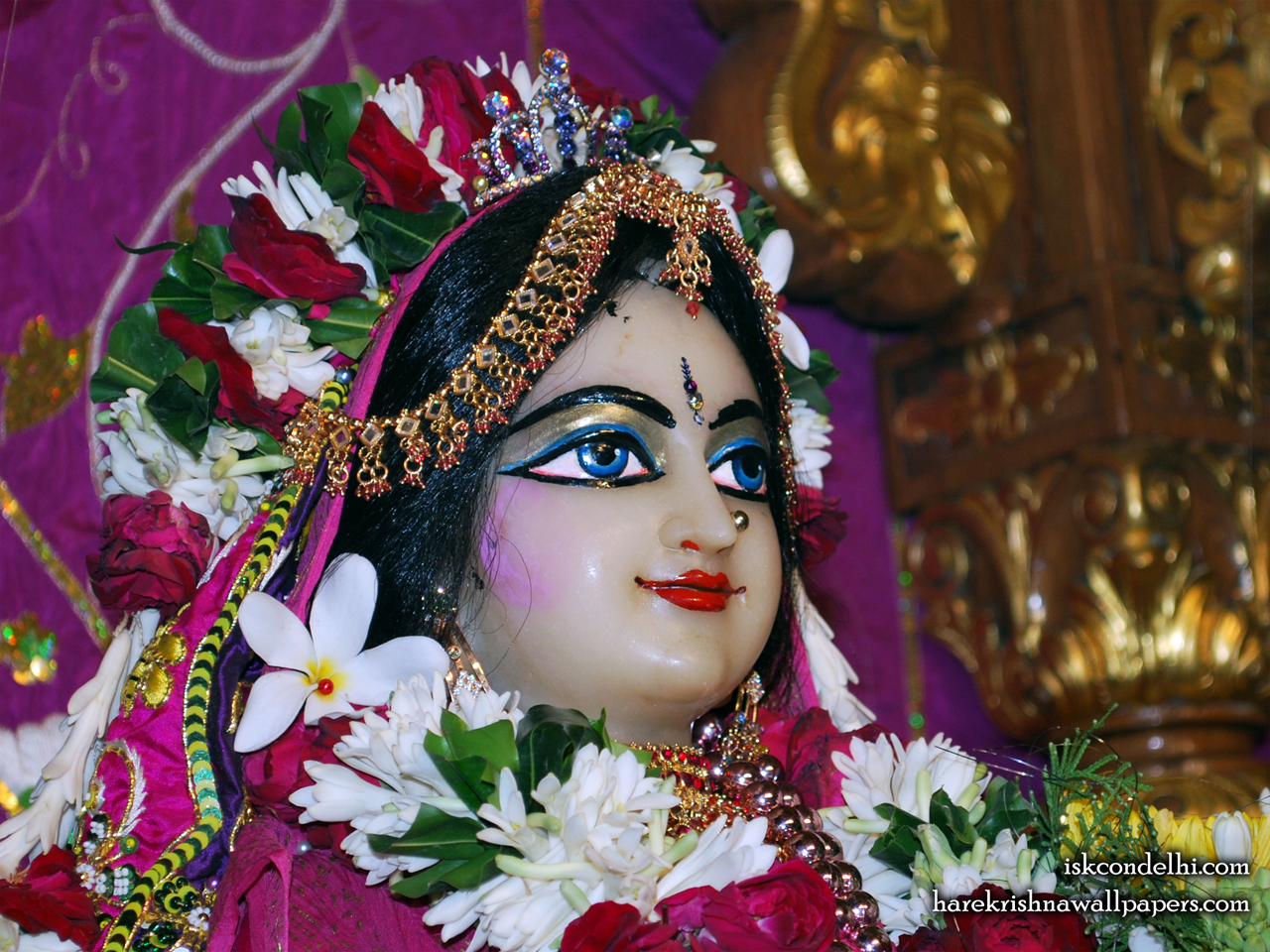 Sri Radha Close up Wallpaper (009) Size 1280x960 Download