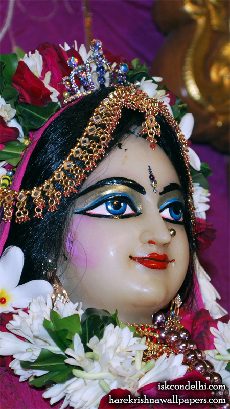Sri Radha Close up Wallpaper (009) Size 450x800 Download