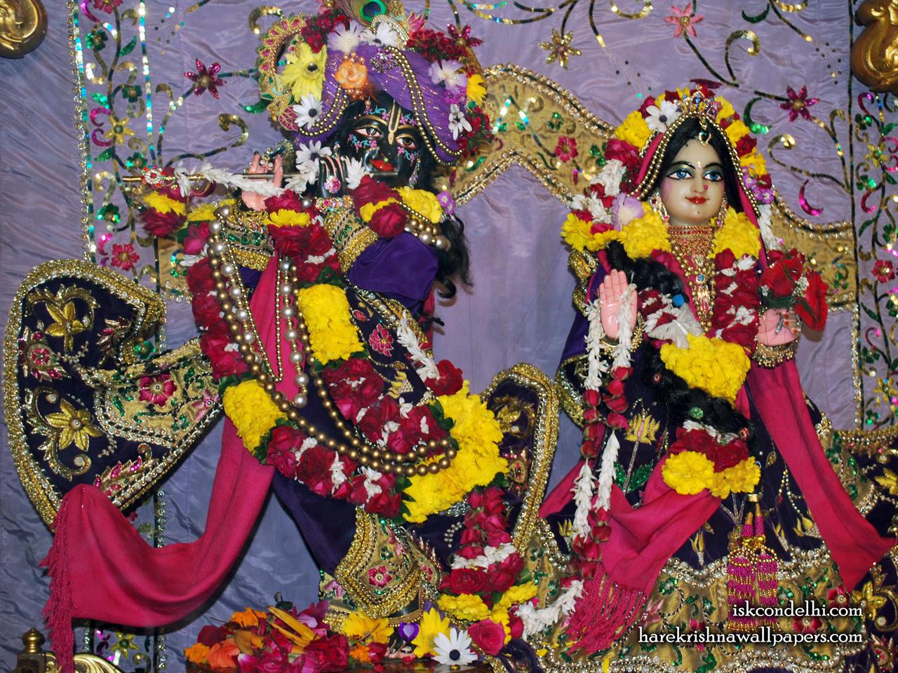 Sri Sri Radha Parthasarathi Wallpaper (009) Size 1280x960 Download