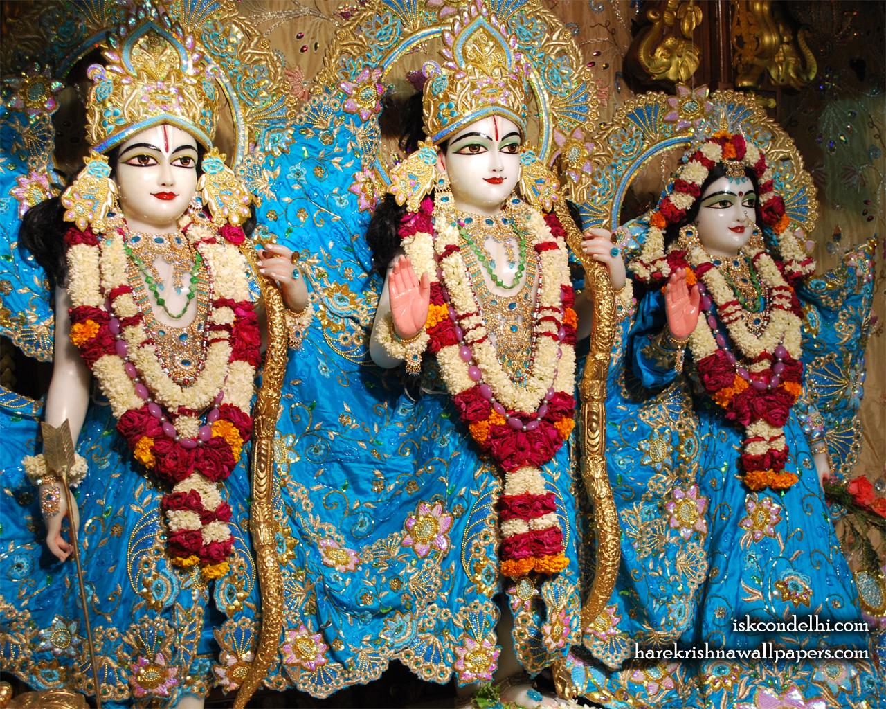 Sri Sri Sita Rama Laxman Wallpaper (009) Size 1280x1024 Download