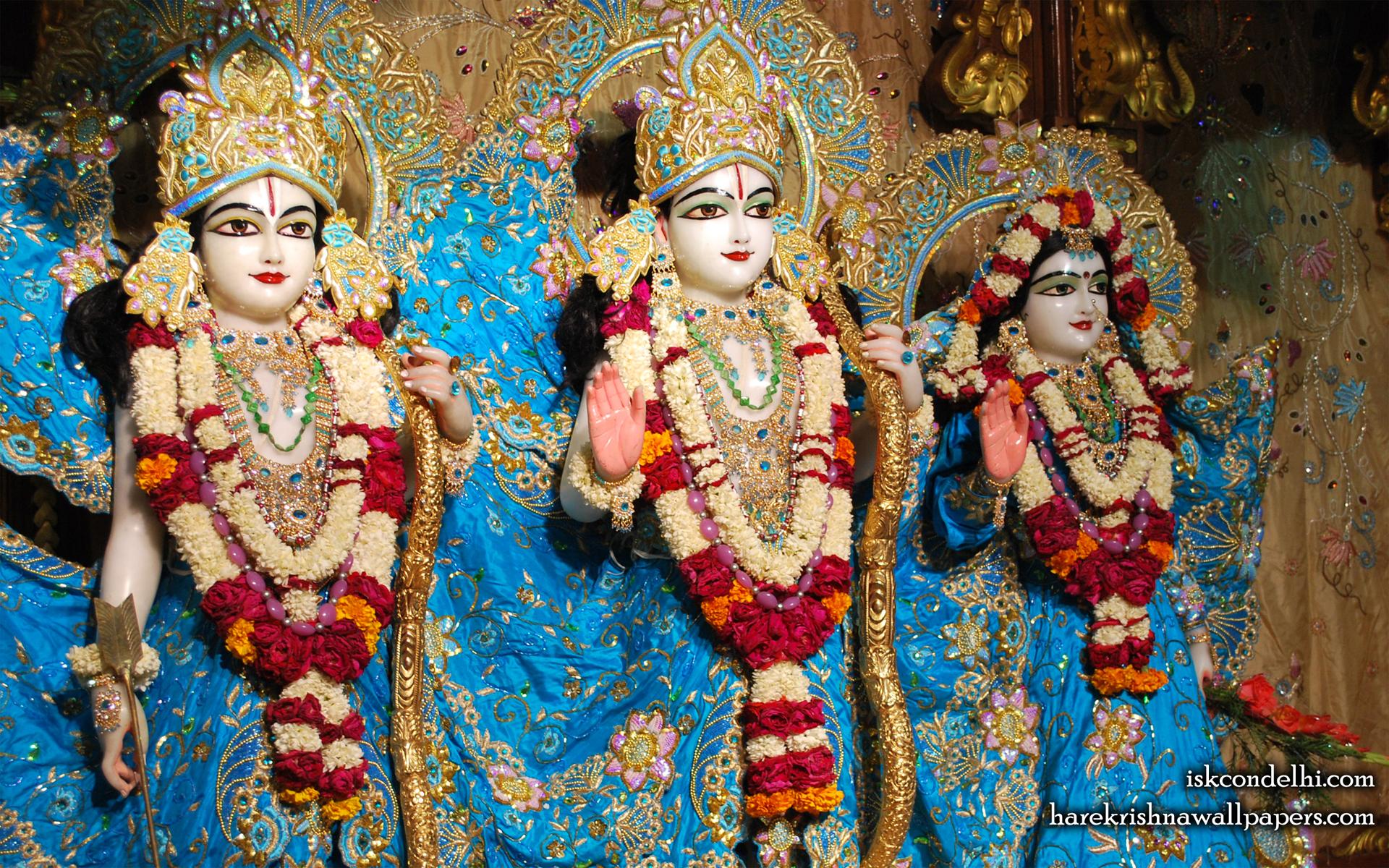 Sri Sri Sita Rama Laxman Wallpaper (009) Size 1920x1200 Download