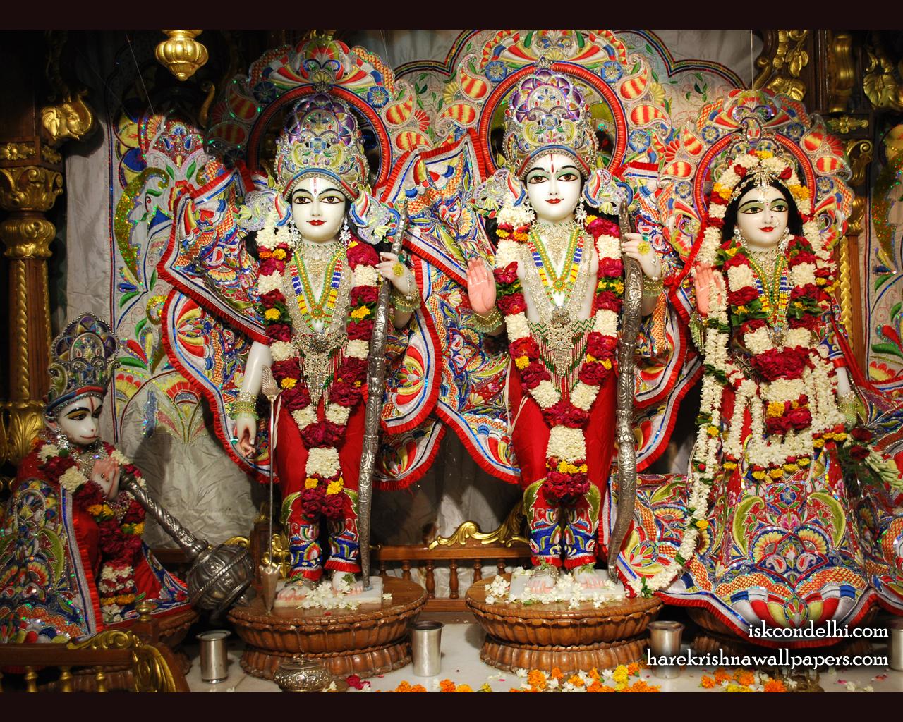 Sri Sri Sita Rama Laxman Hanuman Wallpaper (009) Size 1280x1024 Download