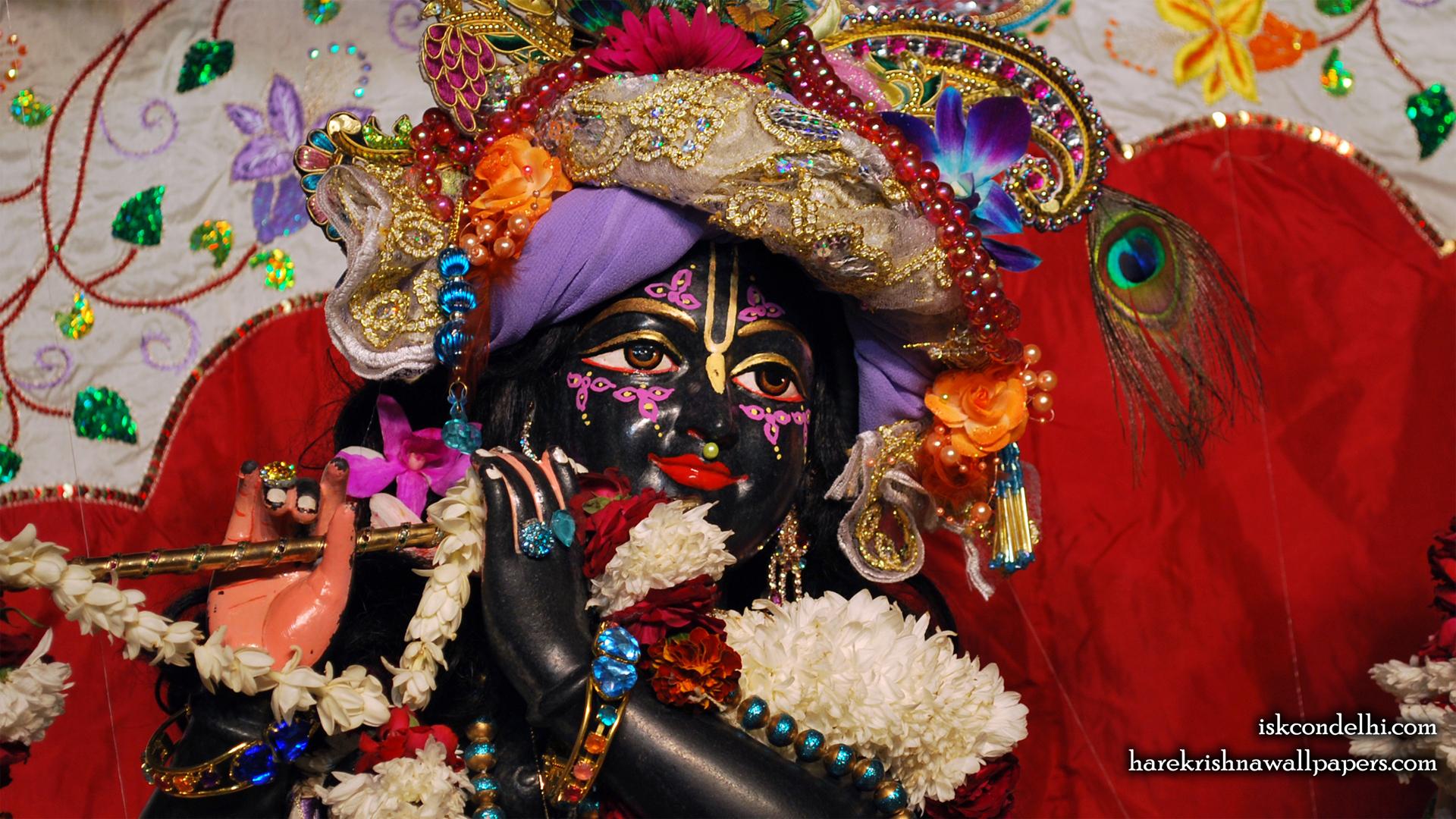 Sri Parthasarathi Close up Wallpaper (010) Size 1920x1080 Download