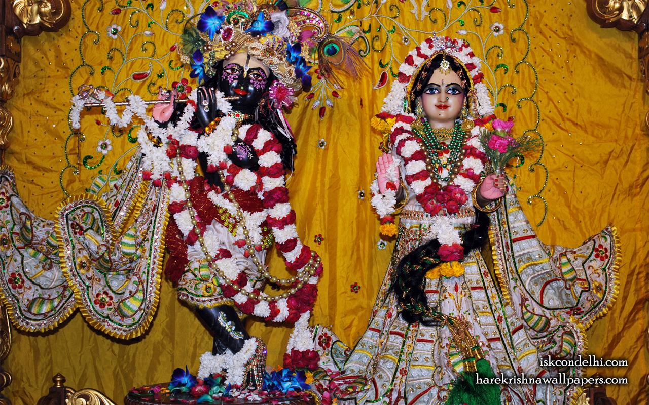 Sri Sri Radha Parthasarathi Wallpaper (010) Size 1280x800 Download