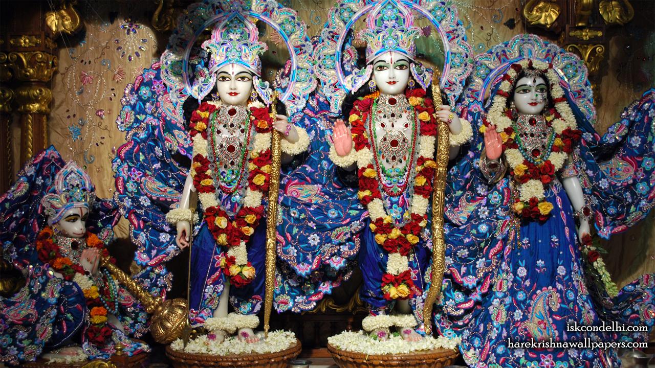 Sri Sri Sita Rama Laxman Hanuman Wallpaper (010) Size1280x720 Download